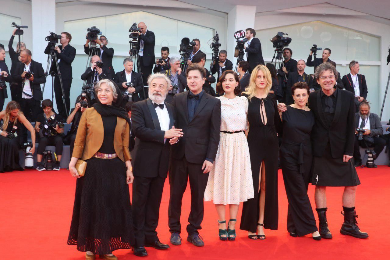 Rakhshan Banietemad on the Jury of the Venice Film Festival